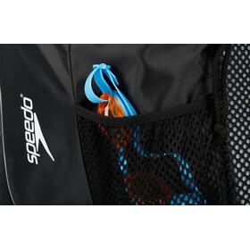 speedo Deluxe Ventilator Mesh Bag 35l black/white